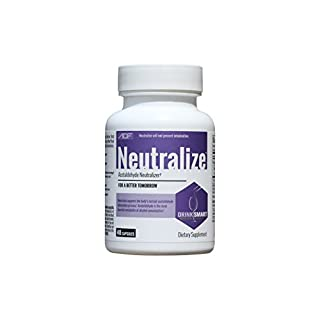 Neutralize Supports The Body's Normal Acetaldehyde Elimination Process. Drink Smart. Never Drink Without It - 48 Capsules