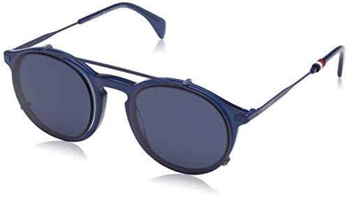 Tommy Hilfiger Herren TH 1471/C 99 PJP 50 Sonnenbrille, Blau (Blue/Tranarent)