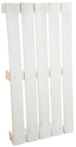 Palette ca 120 x 60 x 13 cm - natur / shabby / Vintage / Möbelbau - Palettnmöbel-Palettenregal - Bettbau - Weinkisten - Apfelkiste - Obstkiste (WEISS)