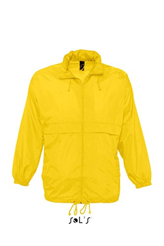 SOLS-SURF-Giacca Antivento Unisex Gold