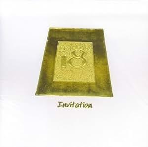 Cartons d'Invitation d'anniversaire 18 ans Motif & 6 cartes et enveloppes