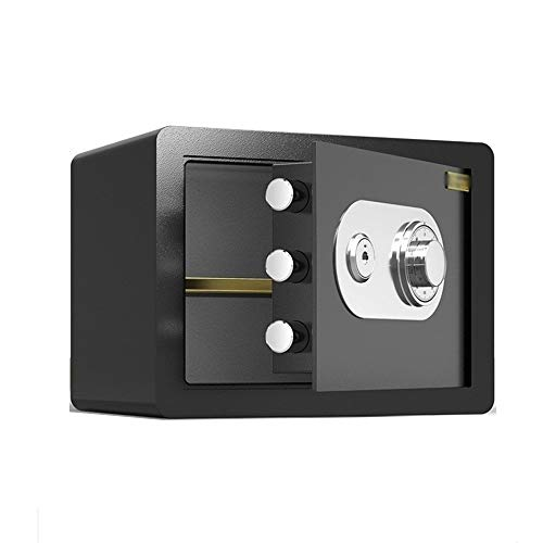 QFFL Caja fuerte,Safe Cajas Fuertes, Contraseña Mecánica Caja Fuerte Seguridad Contra Incendios Prevención...