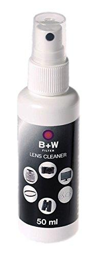 dslr reinigung et B+W Lens Cleaner, Pumpspray 50ml, zur Reinigung von Filter, Objektiven und Co. mit Anti-Beschlag Wirkung
