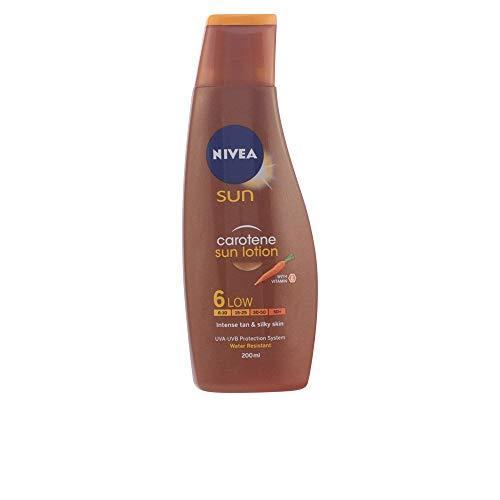 DEEP TANNING carotene sun lotion SPF6 200 ml