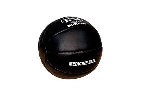 CSI Leather Medicine Ball, 3 Kg (Black)
