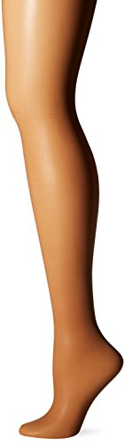 L'eggs Women's Sheer Energy Toe Pantyhose, Suntan, Q (Schiere 10 Denier)