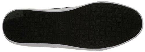 DC Shoes Argosy Vulc Daim Chaussure de Basket Black/Dk Grey/White