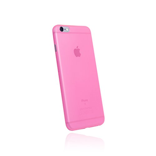 hardwrk ultra-slim Case für Apple iPhone 6 Plus und 6s Plus - pink - ultradünne Schutzhülle Handyhülle Cover Hülle in shiny pink (Pink Hard Case Cover)