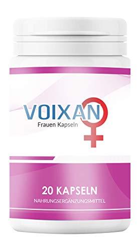 Voixan   für Frauen   100% natürliches Nahrungsergänzungsmittel   20 Kapseln (Woman)