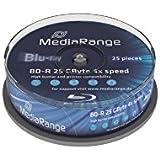 MediaRange MR503 BD-R Blu-ray Disc 4x 25GB (25 Stück)