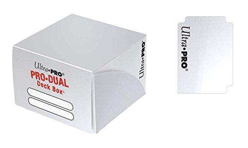 Ultra Pro 82987 - Deck Box - Pro Dual, weiß -