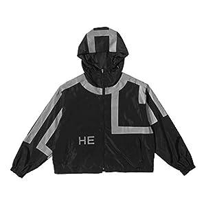 3M Reflective Jacket Mode Jackenmantel, Golden_flower, schwarz, m