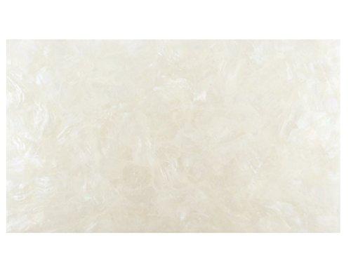Precision Incudo IN1963 240 x 140 mm, motivo: Triangoli a mosaico in madreperla, laminato, fogli da impiallacciatura, colore: bianco