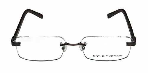 david-yurman-639a-mens-womens-designer-rimless-eyeglasses-glasses