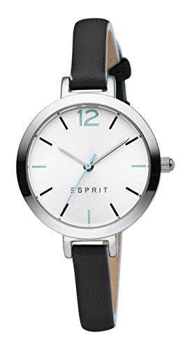 Esprit Damen Analog Quarz Uhr mit Leder Armband ES906712003