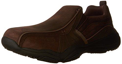 Skechers Men's Larson-Berto Loafers, Brown (Dark Brown), 9.5 UK 44 EU