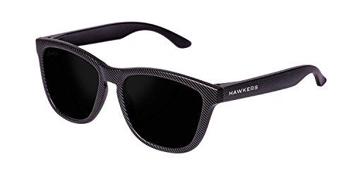 Hawkers Carbono Dark One, Gafas de Sol Unisex, Negro/Negro