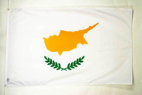 DRAPEAU CHYPRE 150x90cm - DRAPEAU CHYPRIOTE 90 x 150 cm - DRAPEAUX - AZ FLAG
