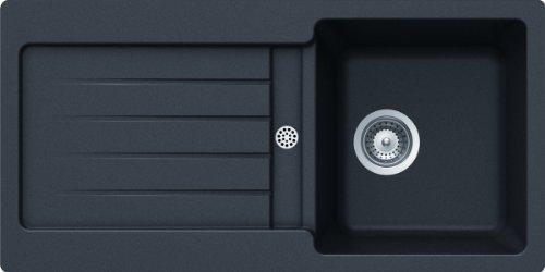 Preisvergleich Produktbild Schock Spüle Typos D-100S Auflage, nero, TYPD100SAGNE