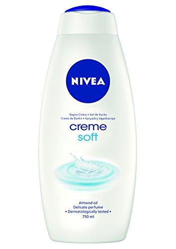 Nivea - Bagno Crema, Fragranza Delicata e Ricco Olio di Mandorla -  750 ml