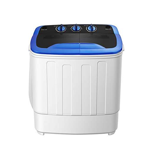 SUNCOO Tragbare Waschmaschine, Mini-Waschmaschine für Single Waschmaschine mit Trockner und...