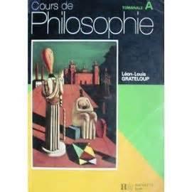 Cours de philosophie, terminale L