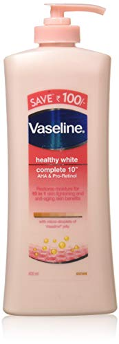 Vaseline Healthy White Complete 10 Body Lotion, 400ml