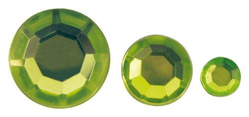 Rayher acrylique de strass, 6,10,14mm, sous blister 310st¿œ CK, hellgr¿œ N