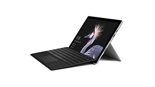 Foto Microsoft Surface Pro Processore Core M, 4 GB di RAM, SSD da 128 GB + Microsoft FMM-00010 Tastiera Meccanica e Retroilluminata, Nero