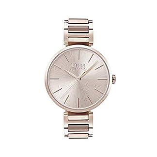 Hugo BOSS Reloj Análogo clásico para Mujer de Cuarzo con Correa en Acero Inoxidable 1502418