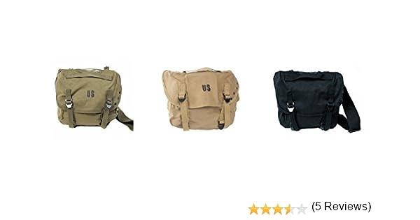 Sac Militaire Messenger Besace Musette /à Bandouli/ère US Army Inscription US Outdoor Paintball Airsoft PURECITY/©/©/© Moto