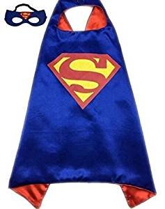 squishybean 1 Set Kinder Cape und Masken Superman Kostüme Super Hero Kleid bis Super Man Kostüme Avengers Superman Alu Fancy Kleid