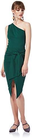 فستان نسائي بكتف واحد على شكل فيونكة من بيي يو
