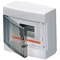 Gewiss GW40045 - Caja para cuadro eléctrico (280 mm, 100 mm, 225 mm) Color blanco