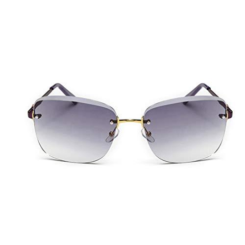 Polarisierte Sonnenbrille mit UV-Schutz Graceful Lady Sonnenbrillen zarte frameless Sonnenbrillen für Frauen Platz Sonnenbrillen UV-Schutz klassische coole Sonnenbrillen für das Fahren. Superleichtes
