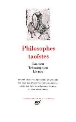 Philosophes taoïstes, tome 1 : Lao-Tseu...