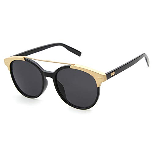 DWSYDA Mode runde felge Sonnenbrille Frauen Sonnenbrille metalllegierung draht,1