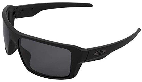 Preisvergleich Produktbild Oakley Double Edge Matte Black Grey Polarized