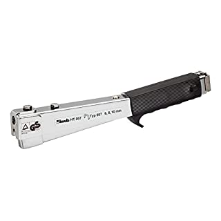 kwb Profi Hammertacker HT 057 – Tacker-Gerät mit Handtacker-Funktion, befestigt Tacker-Klammern schnell & stark, Alternative zur elektrischen Tacker-Pistole