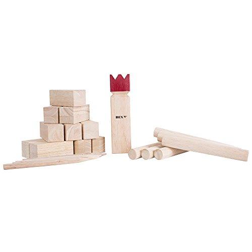 BEX - Kubb, Holz 21-teilig