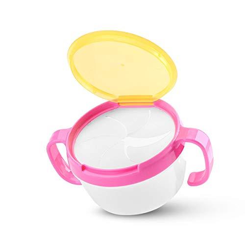 Uteruik Baby Fütterung Doppelgriff Kekse Snack Schüssel Auslaufsicher Becher Zubehör Küche Werkzeug 1 Stück #1