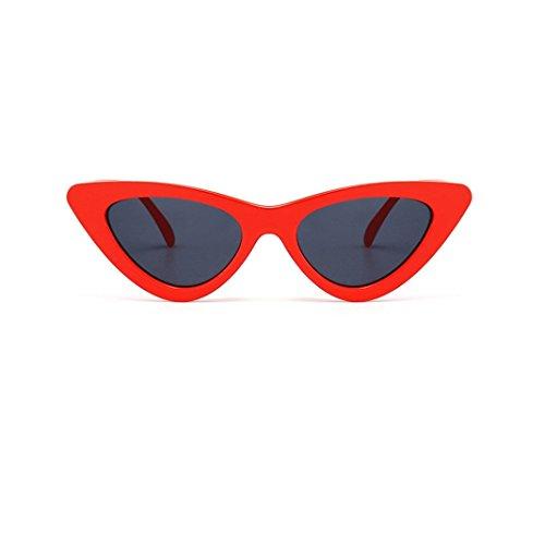 URSING Damen Mode Katzenaugen Sonnenbrille Integriertes UV Cat Eye Sunglasses Damenbrillen...