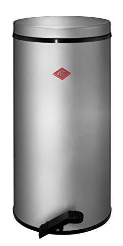 Wesco Tretabfallsammler Gastro 22 Liter silber (Mülleimer Silber)