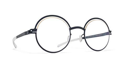 Mykita Brillen OTTI GOLD INDIGO Damenbrillen