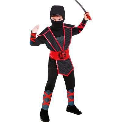 vestimento Carnevale Halloween Ninja 5-7 Anni ()