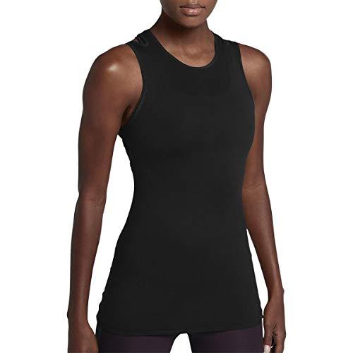 Nike Womens Jersey Sleeveless Tank Top Black M - Nike Womens Sleeveless Tee
