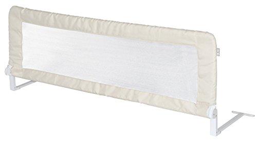 *roba Bettschutzgitter Klipp-Klapp, klappbares Bettgitter für Babys & Kinder, Rausfallschutz 150 cm, für Matratzen von 14 bis 25 cm geeignet, beige*