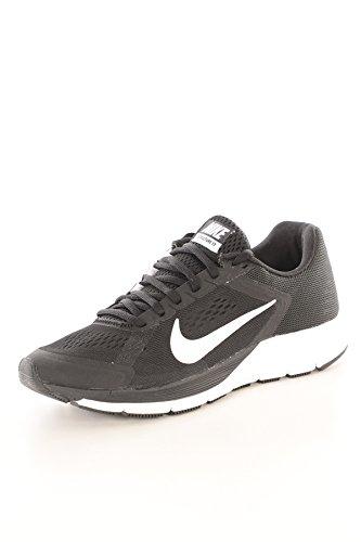 Nike Wmns Zoom Structure+ 17, Chaussures de Running Entrainement Femme Blanc (noir / blanc)