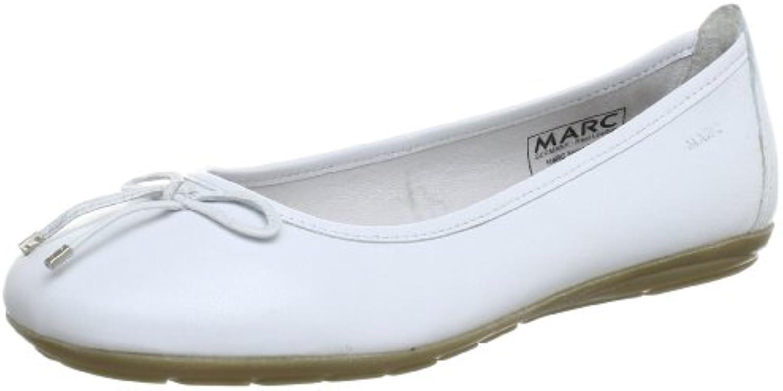Marc Shoes 1.650.26-01/100-Janine 1.650.26-01/100 - Bailarinas de cuero para mujer