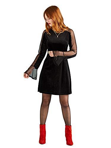 Dot Fashion Sneaker (Mesh Dot Panel Tunic Dress)